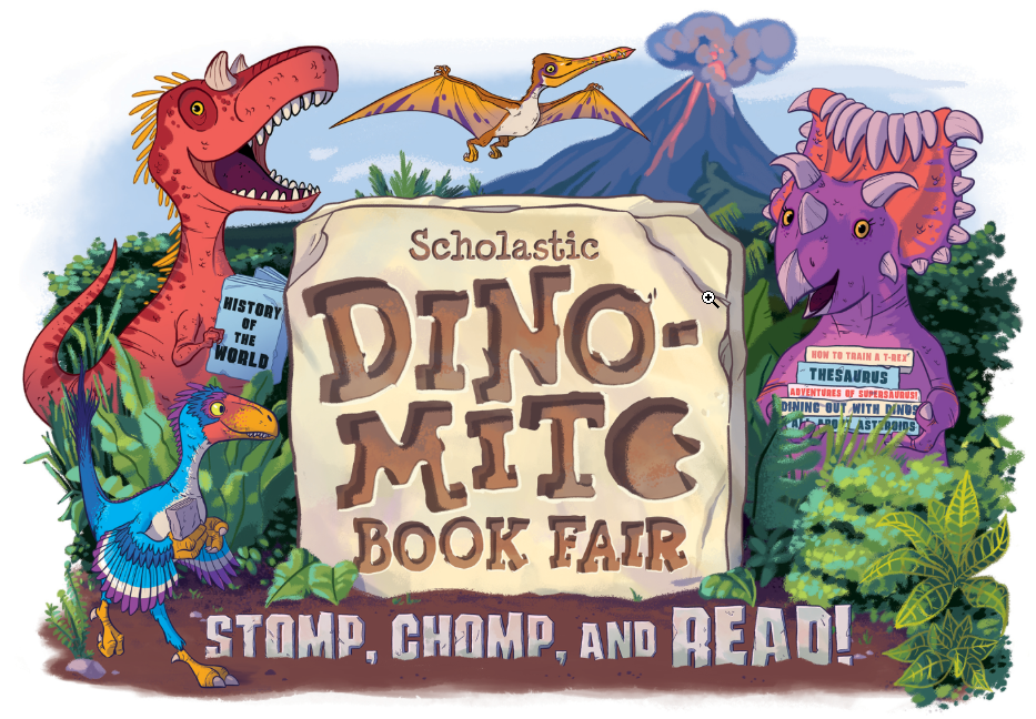 Book Fair is March 29-April 4!